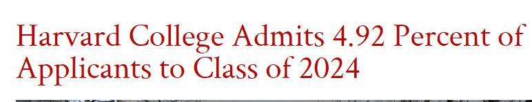 哈佛大学公布Class of 2024数据,亚裔、非洲裔比例上升